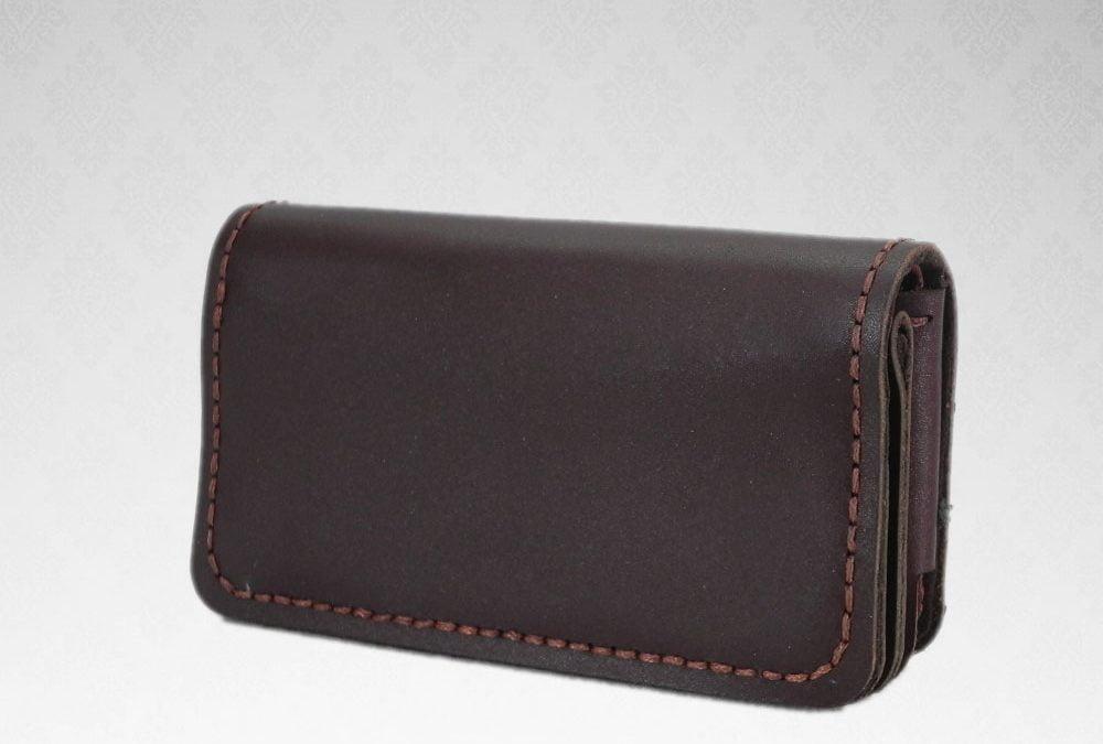 کیف موبایل چرم طبیعی دست دوز کد C-264