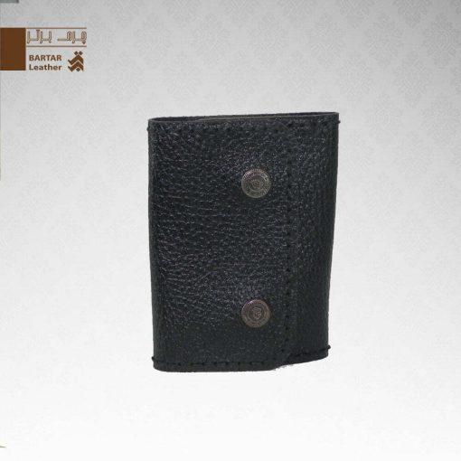 کیف جاکلیدی چرم طبیعی دست دوز کد C-272