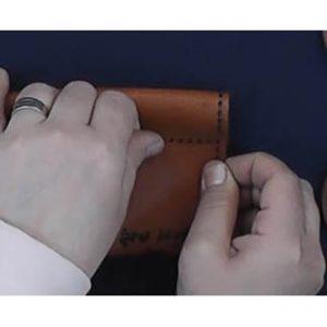 jamedadi11 300x300 - آموزش دوخت جامدادی استوانه ای چرم دست دوز- استاد مرجان محمدی – آموزش تصویری رایگان